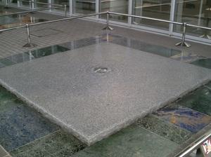 サントリー九州熊本工場の湧き水